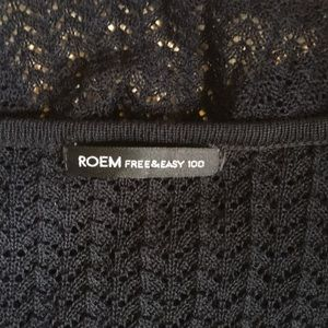 ROEM Sweaters - ROEM Black Cardigan Sweater. Small